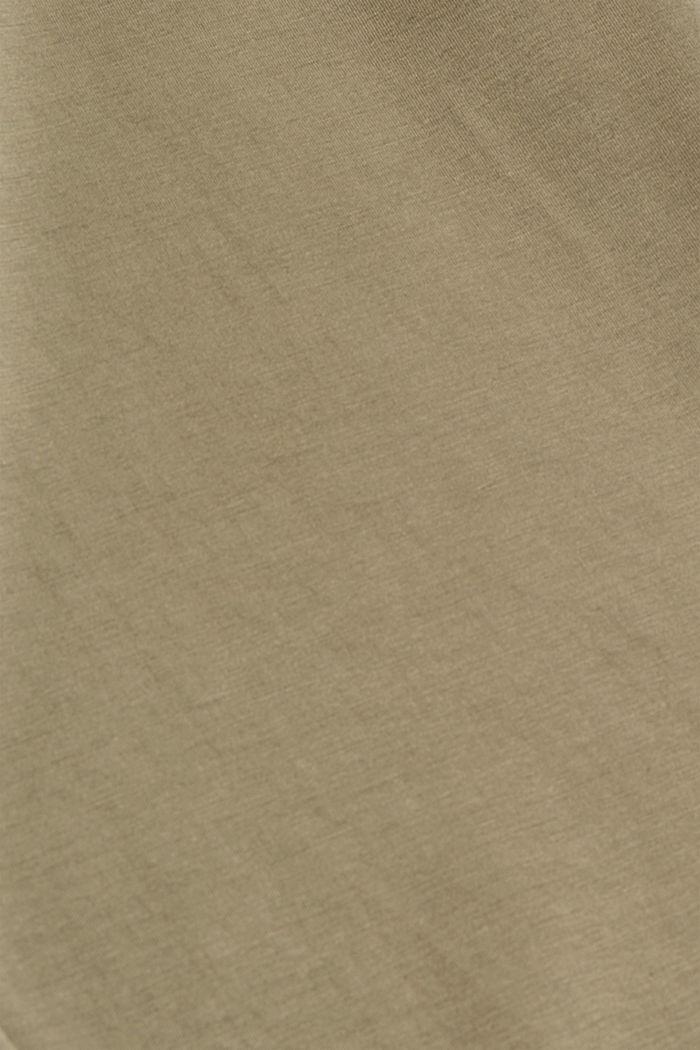 Modal-Mix: Jogger-Pants aus Jersey, DARK KHAKI, detail image number 4