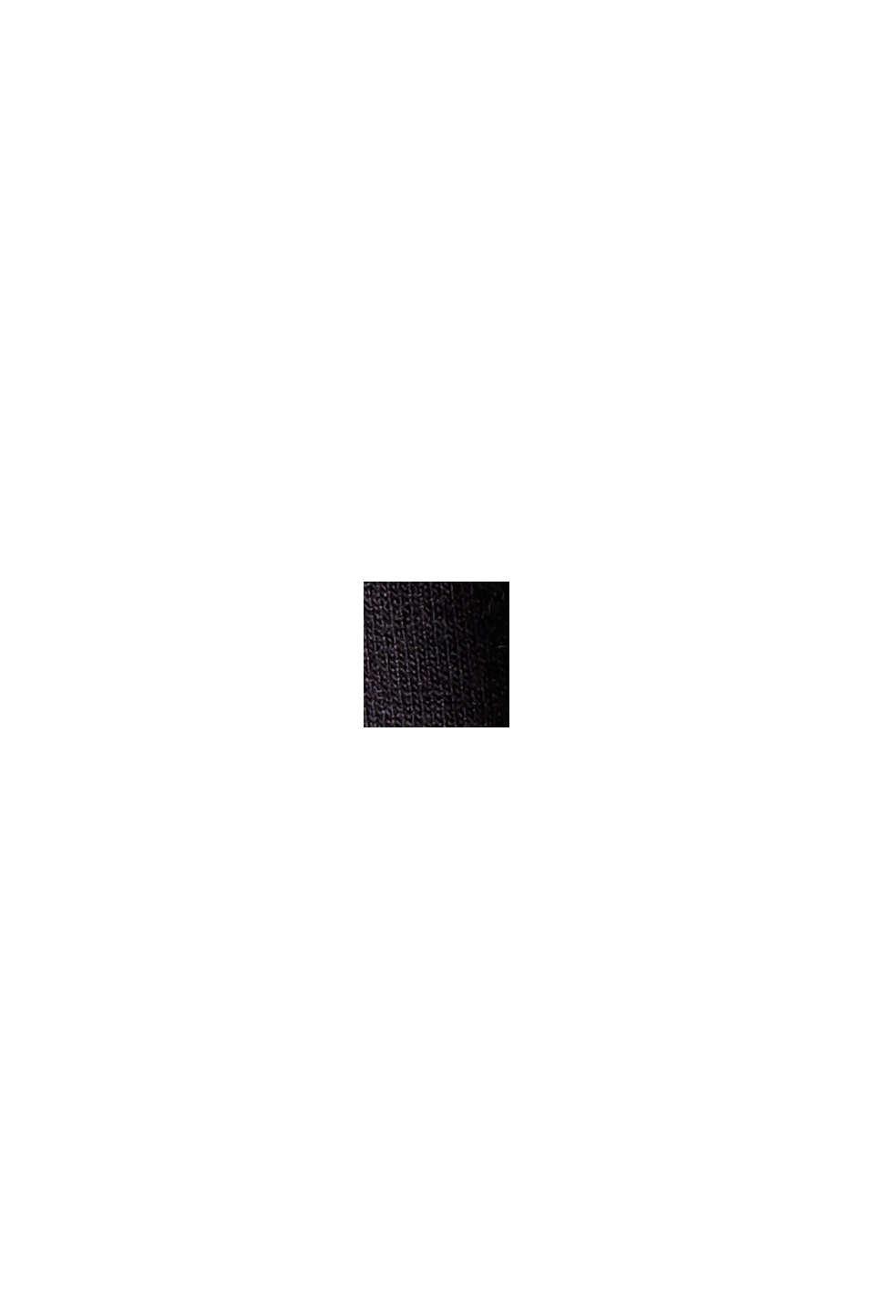 Jersey-Midikleid aus LENZING™ ECOVERO™, BLACK, swatch