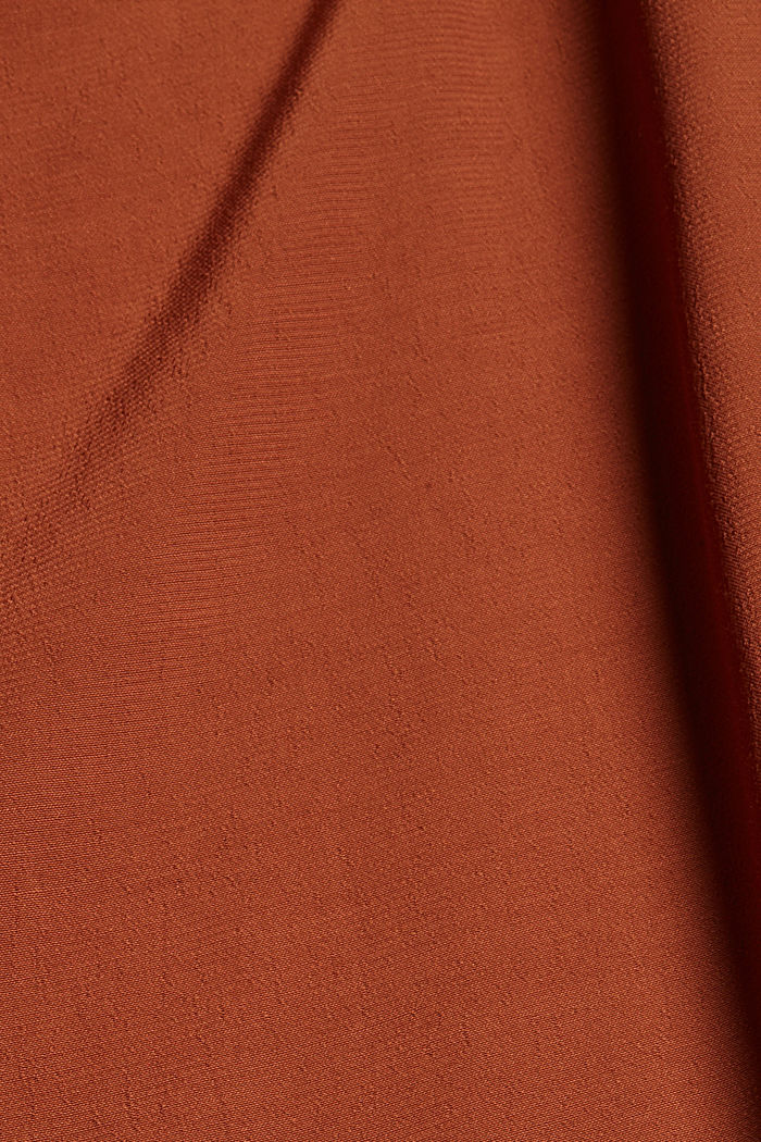 Dresses light woven, TOFFEE, detail image number 4