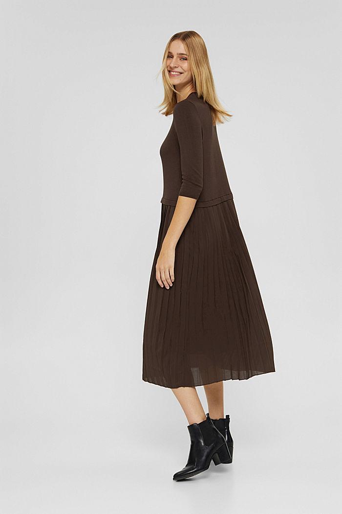 Kleid im Zweiteiler-Look mit LENZING™ ECOVERO™