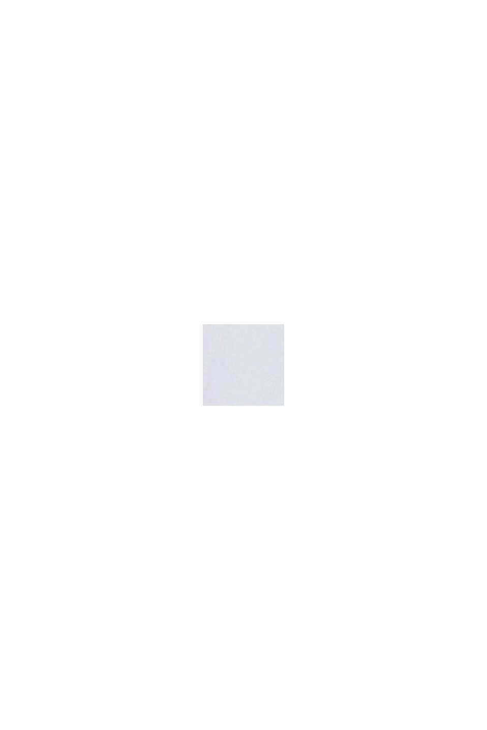 Blusa de popelina con mangas abullonadas, WHITE, swatch