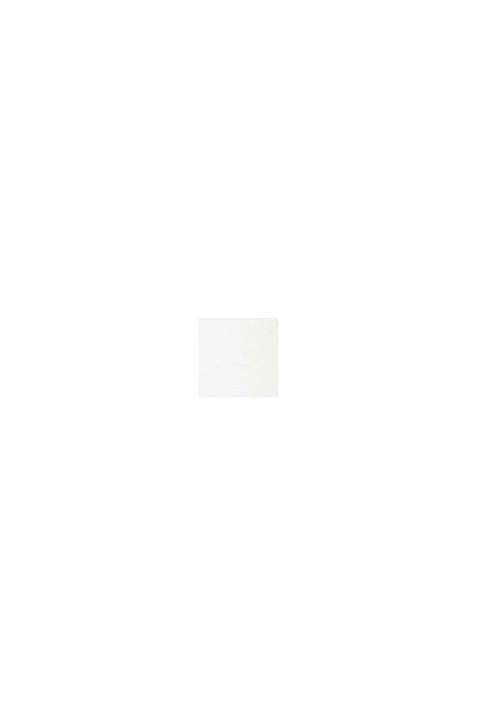 Satinbluse mit LENZING™ ECOVERO™, OFF WHITE, swatch