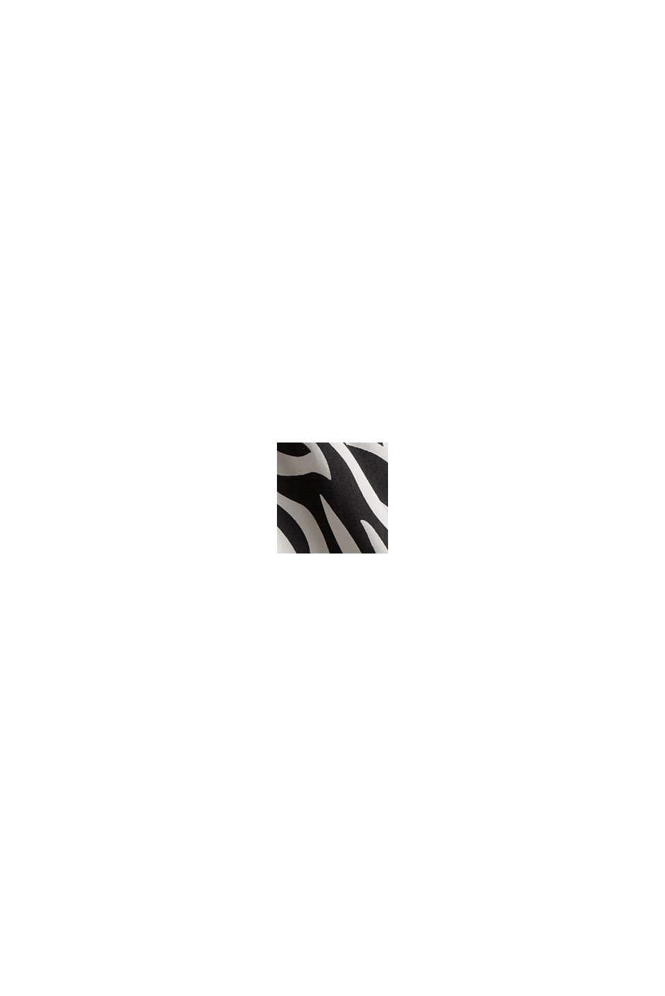 Animal Blusentop mit LENZING™ ECOVERO™, BLACK, swatch