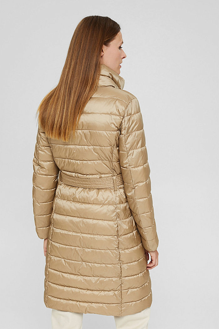 Reciclado: abrigo acolchado Thinsulate™ de 3M™, TAUPE, detail image number 3