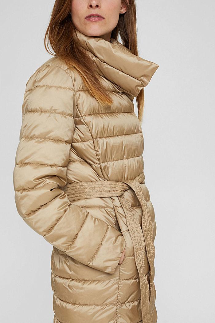 Reciclado: abrigo acolchado Thinsulate™ de 3M™, TAUPE, detail image number 2