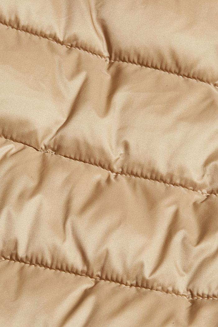 Reciclado: abrigo acolchado Thinsulate™ de 3M™, TAUPE, detail image number 4