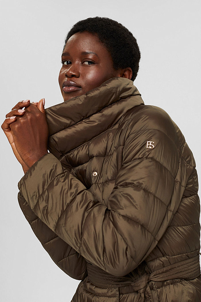 En matière recyclée: le manteau matelassé en 3M™ Thinsulate™