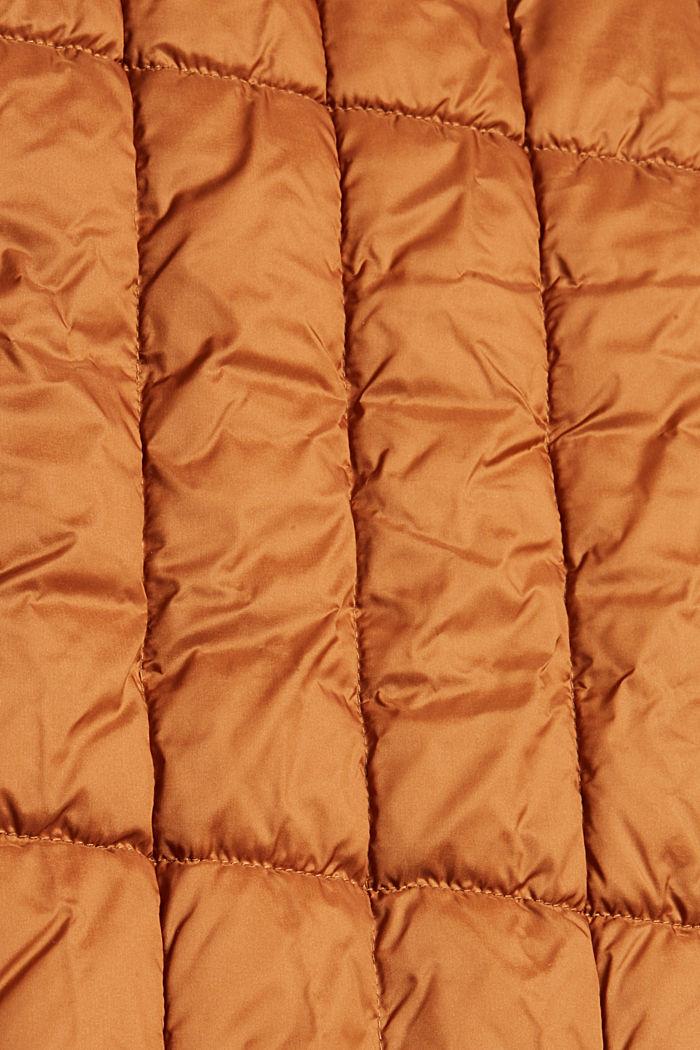 Recycelt: 3M™ Thinsulate™ Steppmantel, CARAMEL, detail image number 4