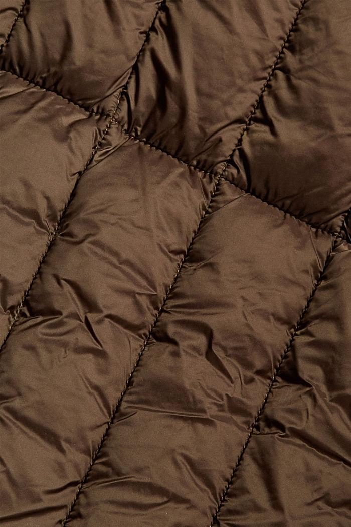 Gerecycled: gewatteerde mantel met 3M™ Thinsulate™-wattering, DARK KHAKI, detail image number 3