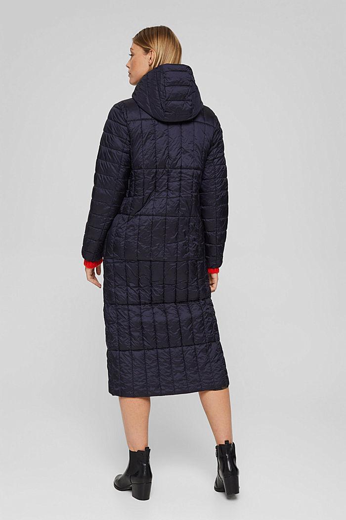 En matière recyclée: le manteau matelassé en 3M™ Thinsulate™, NAVY, detail image number 3