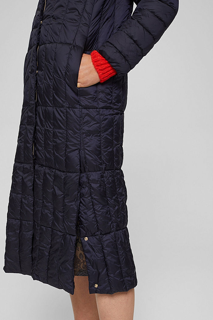 En matière recyclée: le manteau matelassé en 3M™ Thinsulate™, NAVY, detail image number 2
