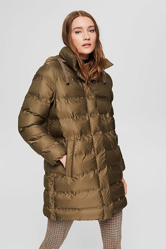Jackets outdoor woven straight