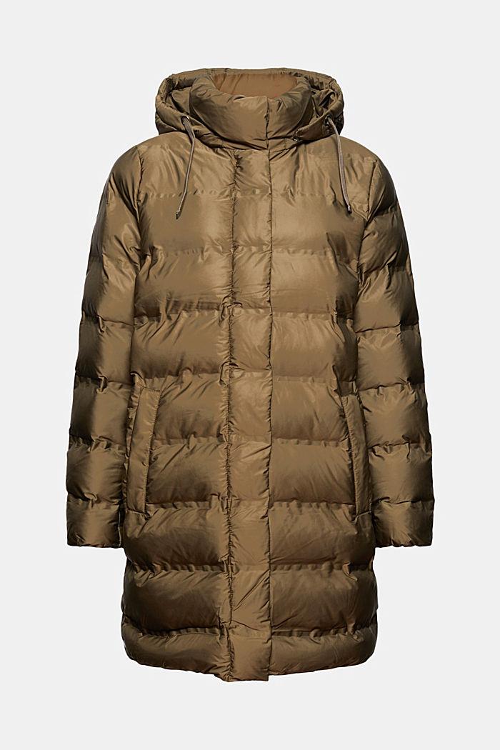 Reciclado: Abrigo acolchado con capucha separable