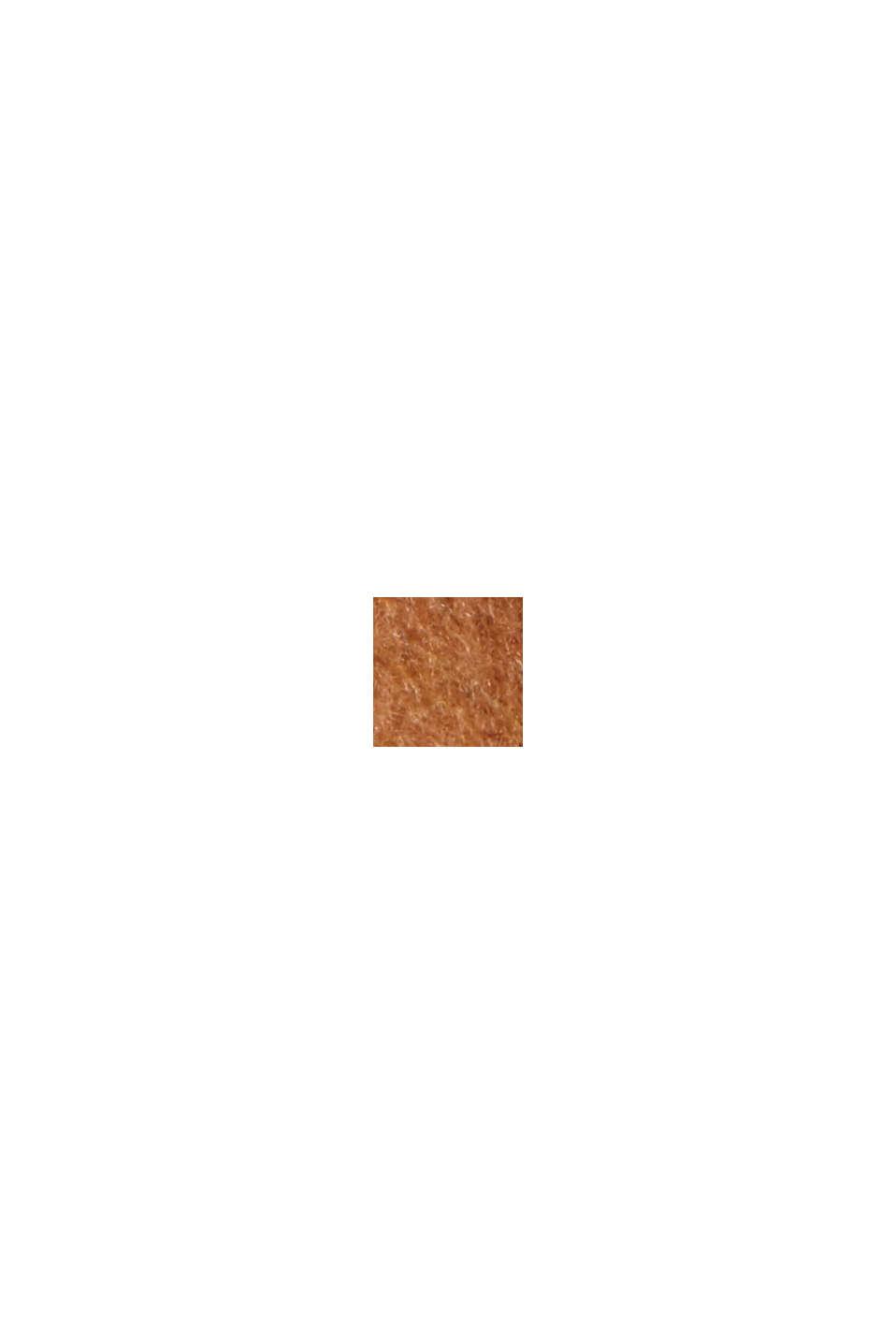 Reycelt: Woll-Mix Oversize-Mantel, CARAMEL, swatch