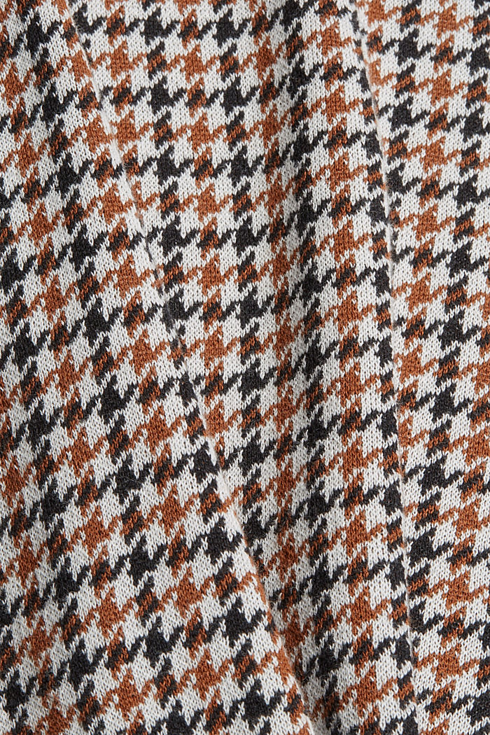 Kurzarm-Pullover aus 100% Organic Cotton, TOFFEE, detail image number 4