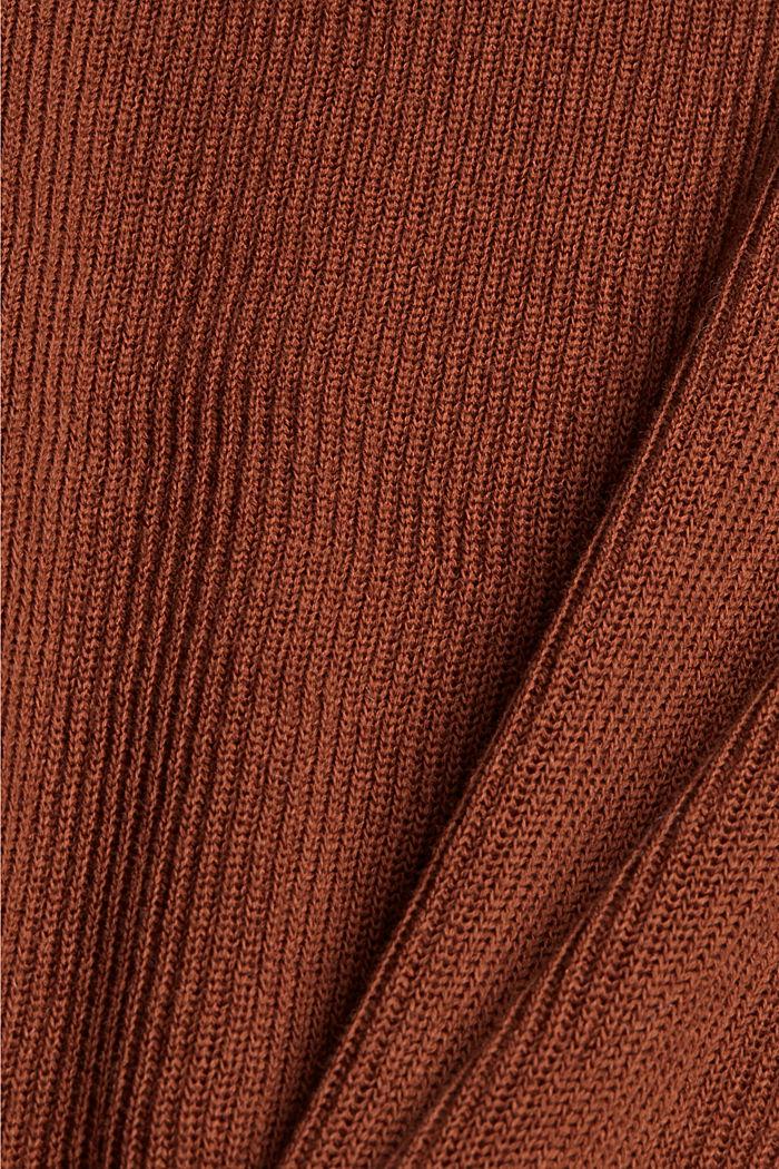 Trui van een mix met biologisch katoen, TOFFEE, detail image number 4