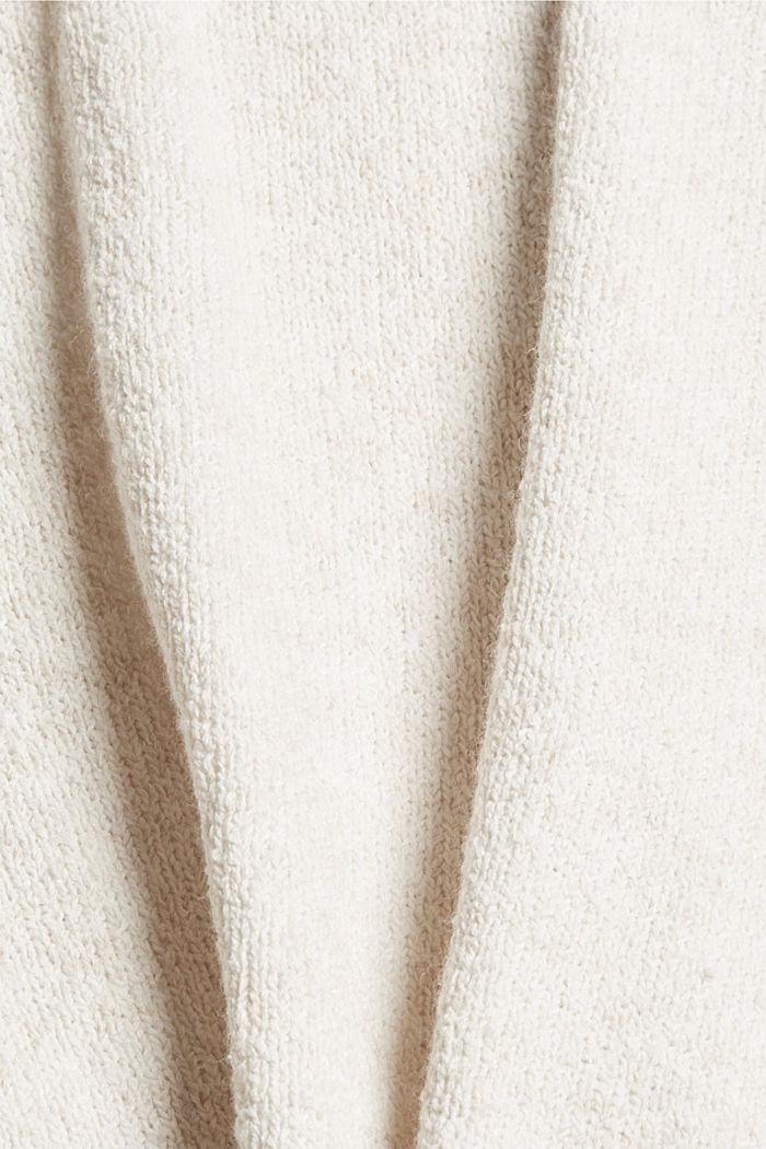 À teneur en laine: le gilet en maille à col droit, ICE, detail image number 4