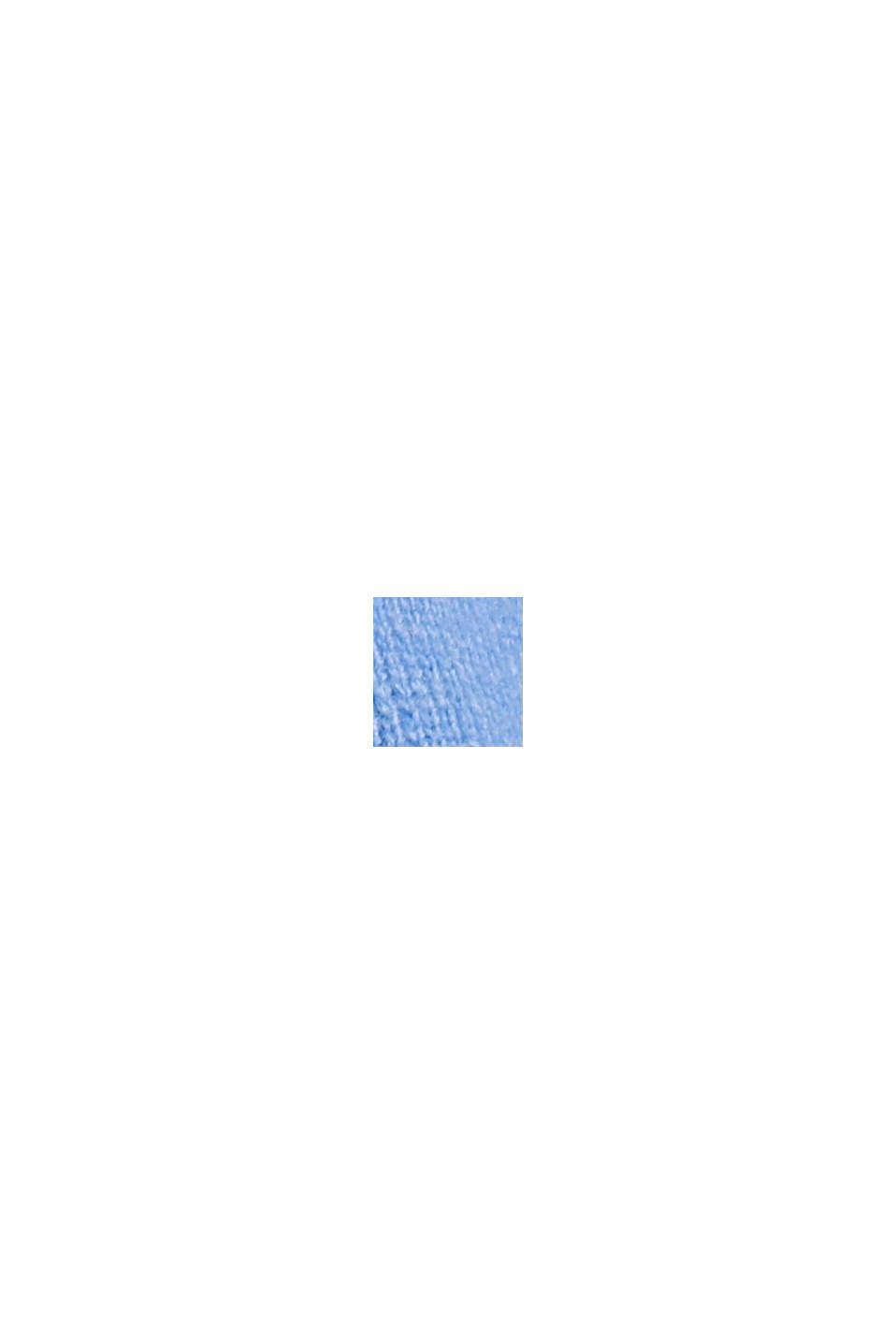 Oversize-Pullover mit Kaschmir-Woll-Blend, BRIGHT BLUE, swatch