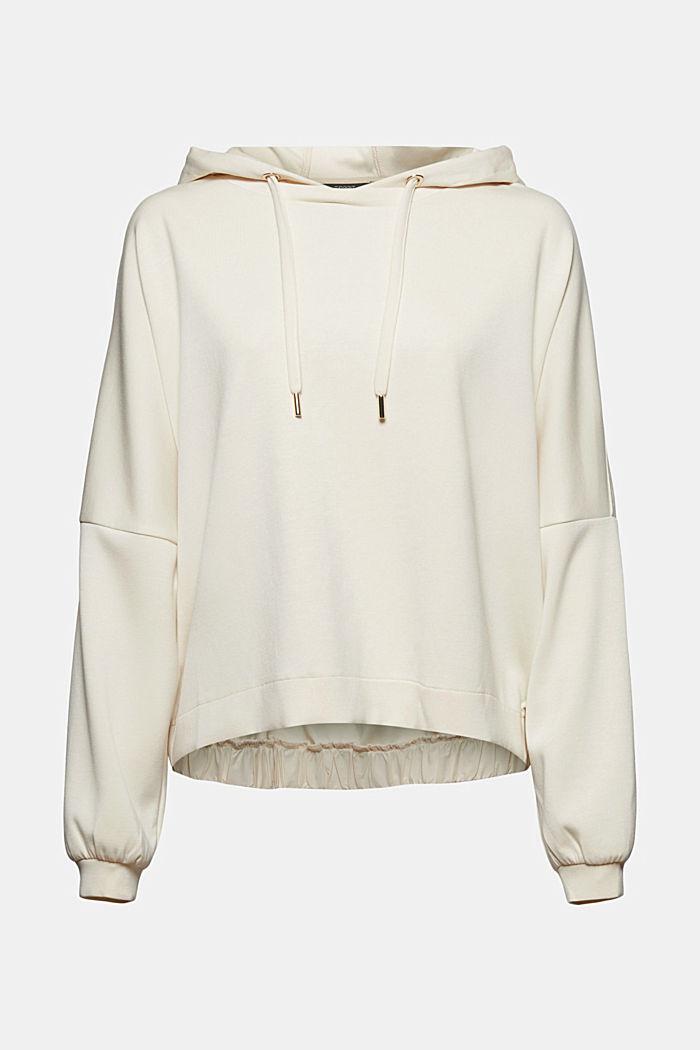 Sweat à capuche en jersey fluide