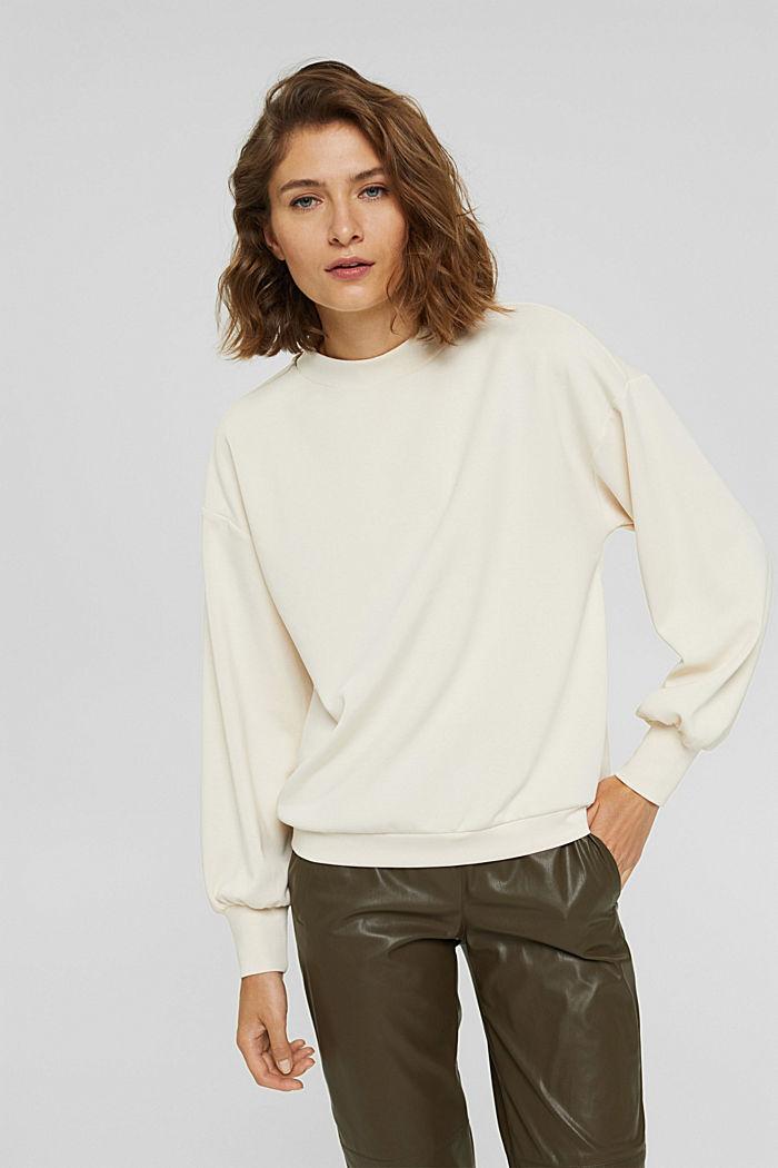 Sweatshirt met ballonmouwen, ICE, detail image number 0