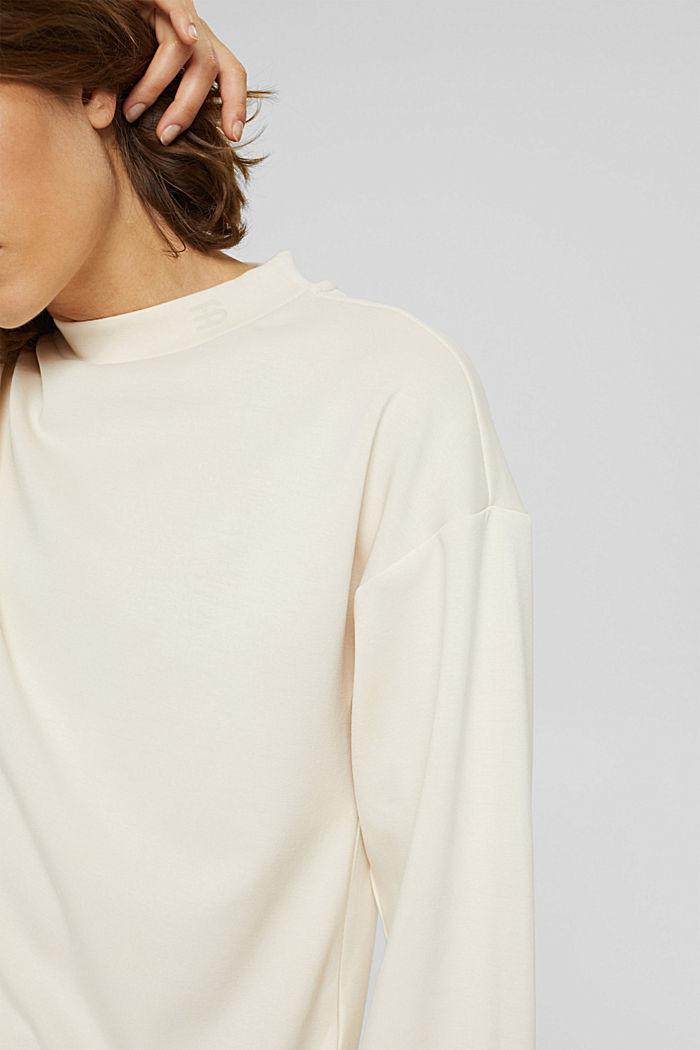 Sweatshirt met ballonmouwen, ICE, detail image number 2