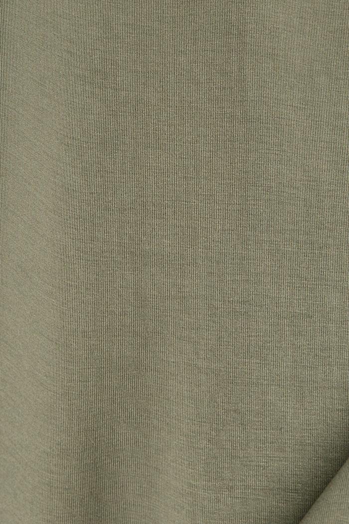 Sweatshirt mit Ballonärmeln, DARK KHAKI, detail image number 4
