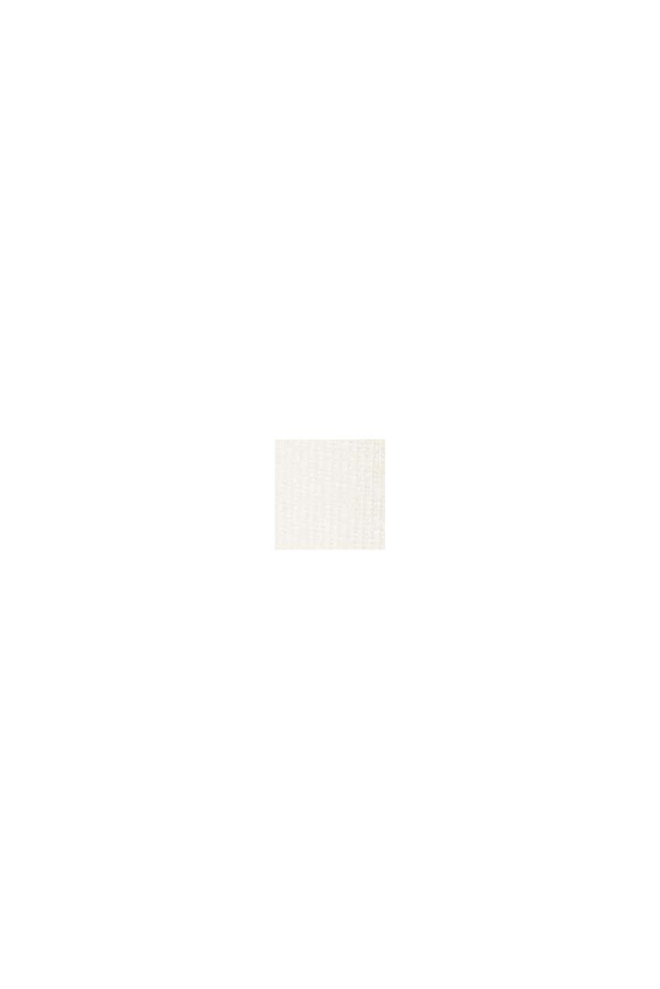 Camiseta con botones en LENZING™ ECOVERO™, OFF WHITE, swatch