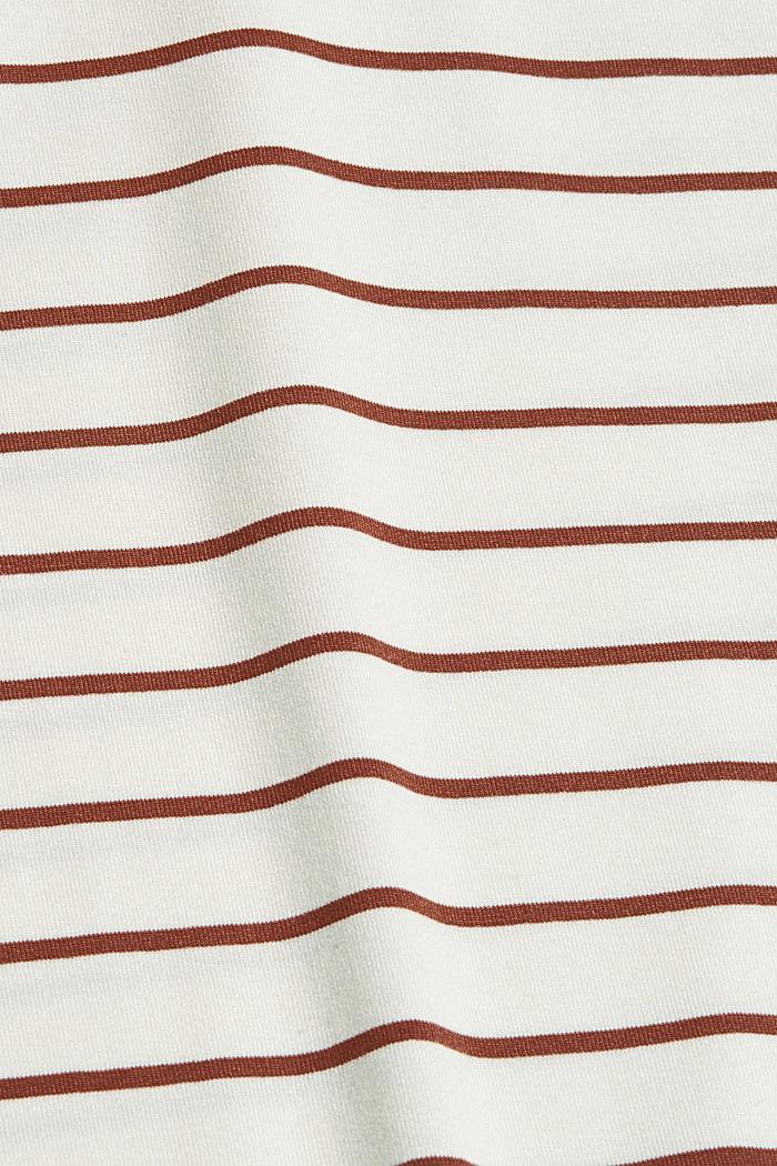 T-shirt à boutons, en LENZING™ ECOVERO™, TOFFEE, detail image number 4