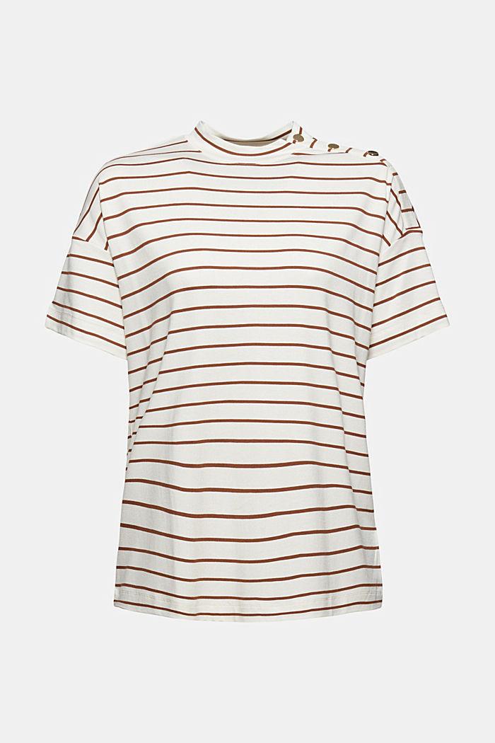 T-shirt à boutons, en LENZING™ ECOVERO™, TOFFEE, detail image number 5