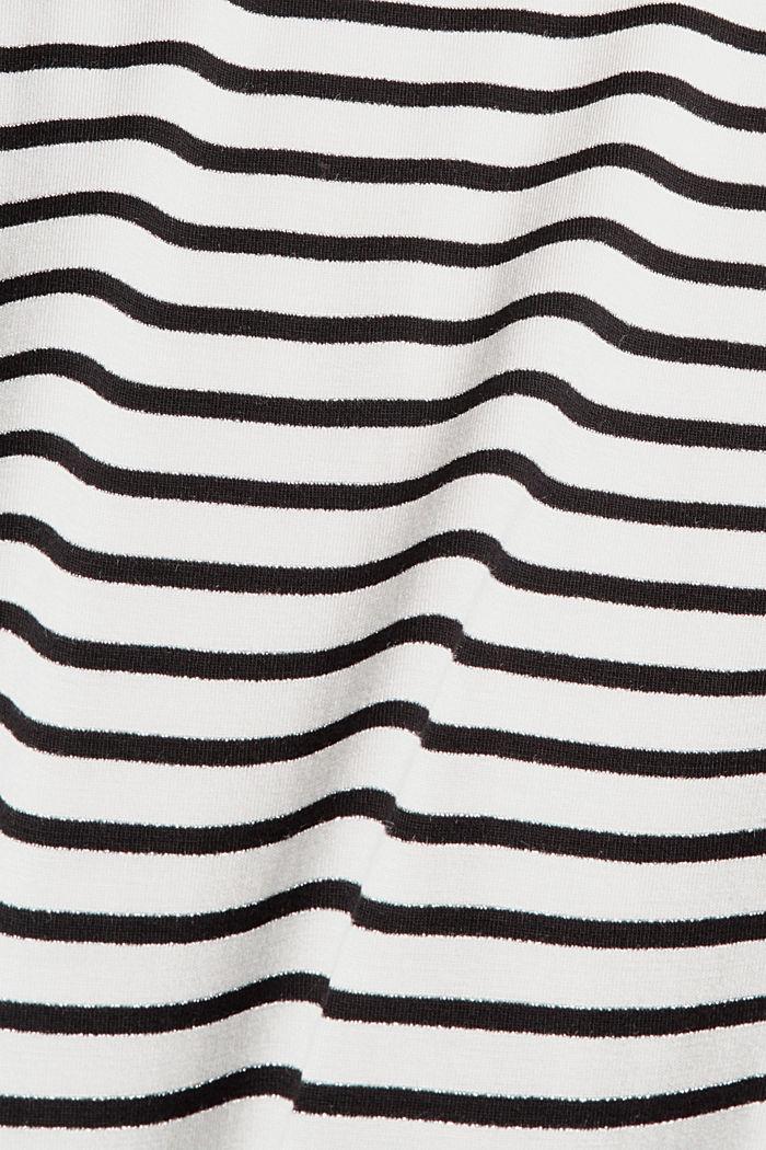 Longsleeve met glitter, LENZING™ ECOVERO™, OFF WHITE, detail image number 4