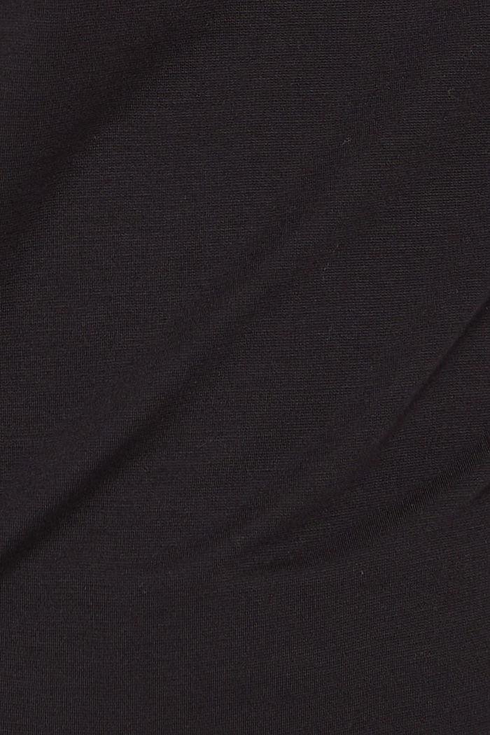 Longsleeve mit rückwärtigem Print, BLACK, detail image number 4