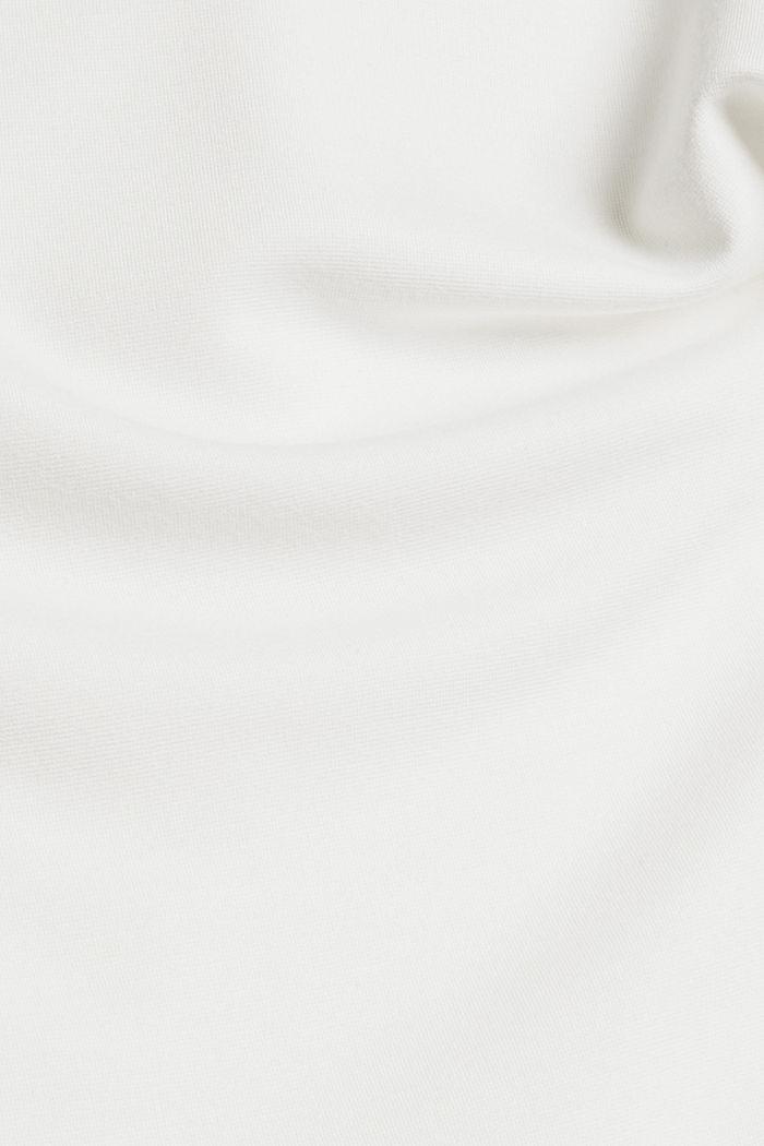Longsleeve met print op de rug, OFF WHITE, detail image number 4