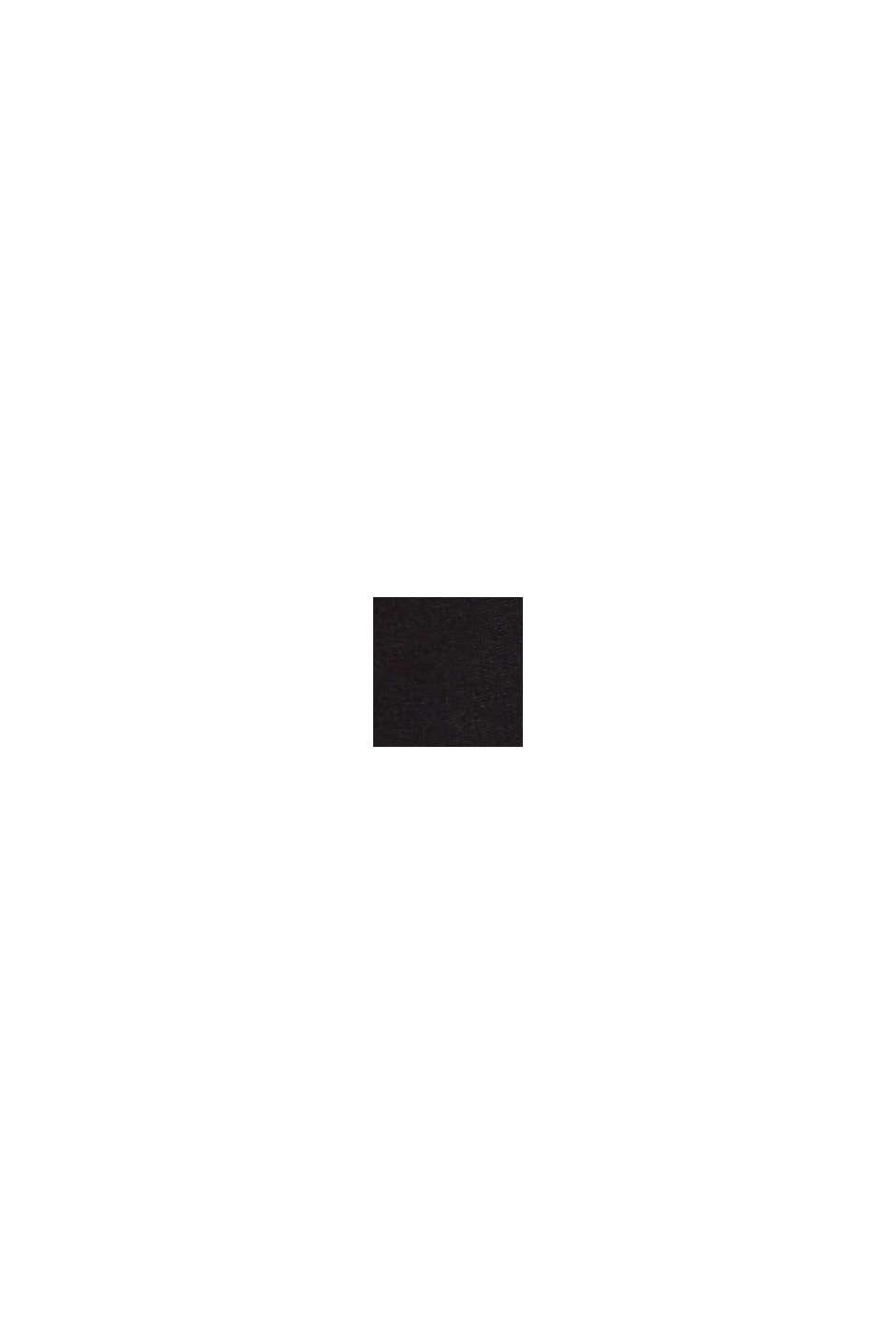 Blusenshirt mit LENZING™ ECOVERO™, BLACK, swatch