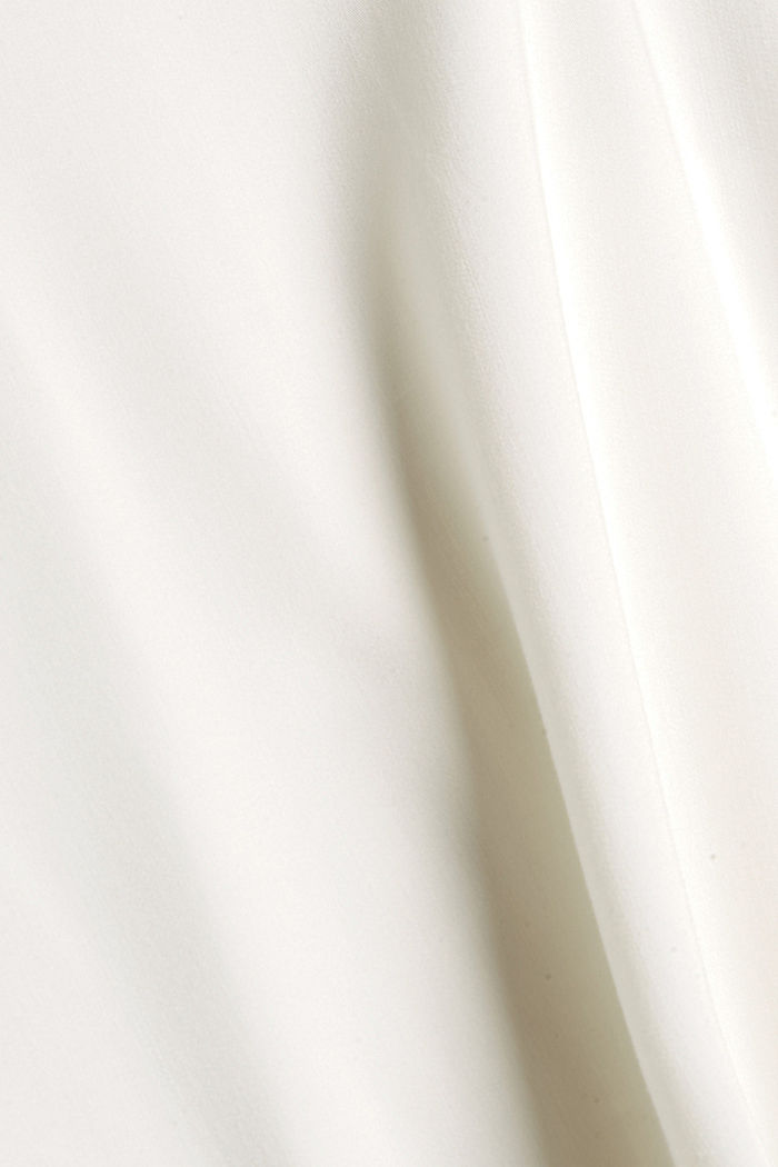 Blouse top with LENZING™ ECOVERO™, OFF WHITE, detail image number 4