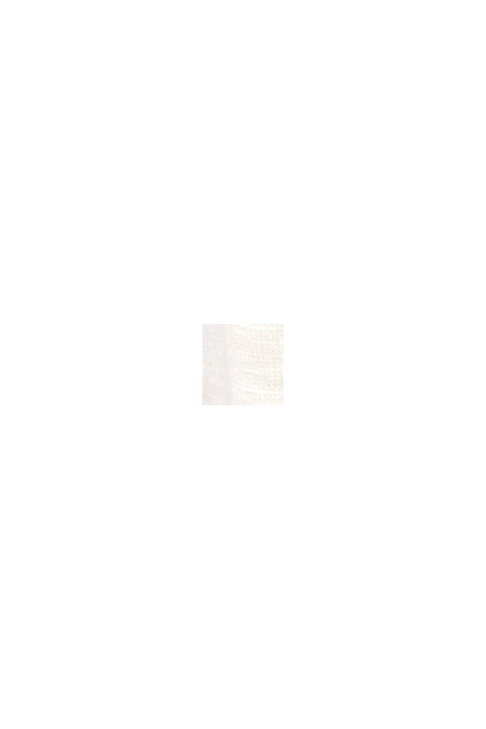 T-shirt à inscription en TENCEL™ et coton biologique, OFF WHITE, swatch