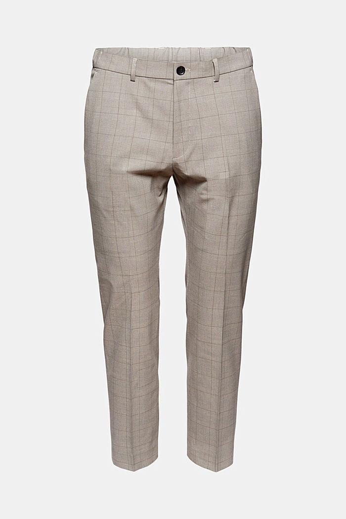 Z recyklingu: spodnie garniturowe z technologią COOLMAX®