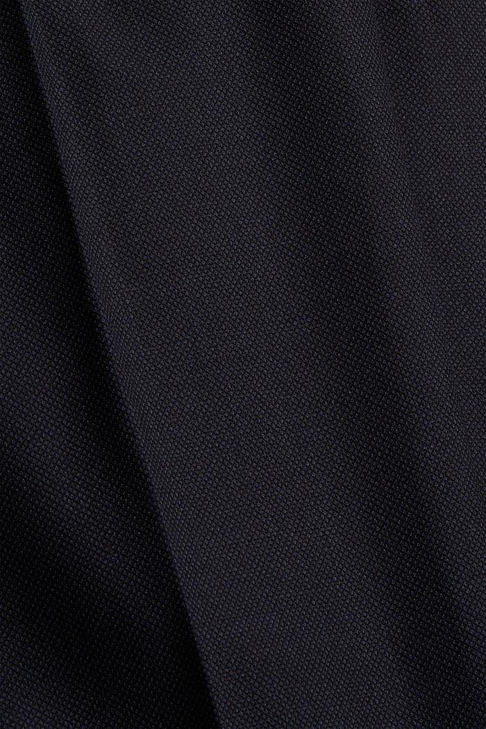 Pantalon en laine mélangée JOGG SUIT, DARK BLUE, detail image number 4
