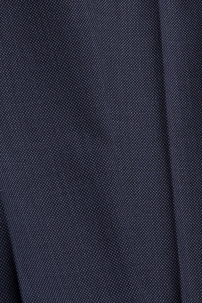 JOGG SUIT Hose aus Woll-Mix, BLUE, detail image number 4