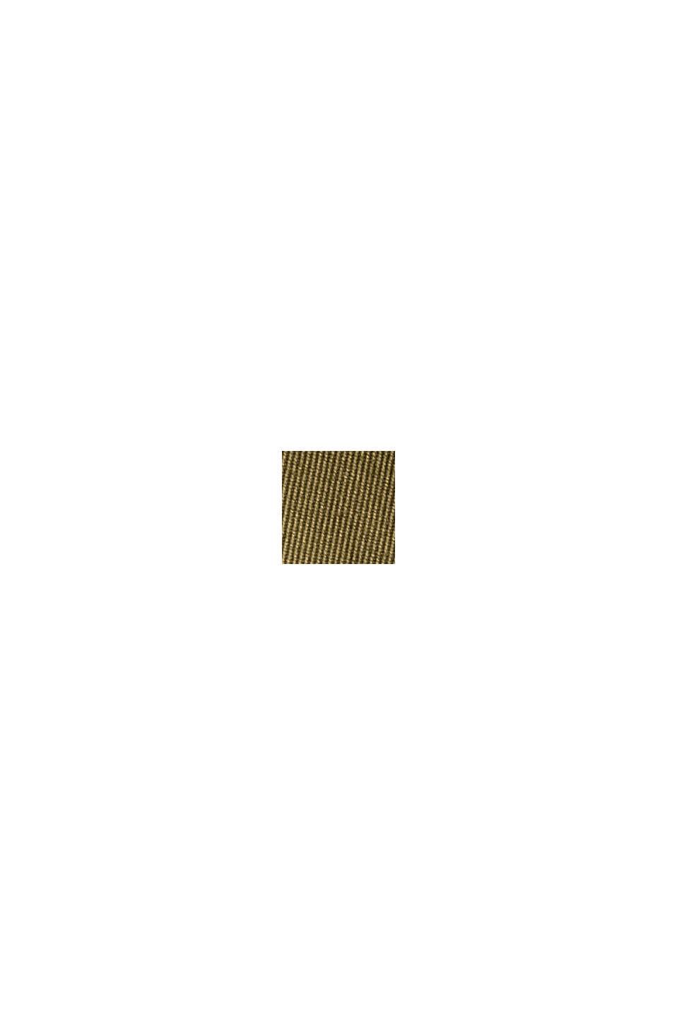 Chino à taille élastique en coton biologique mélangé, LIGHT KHAKI, swatch