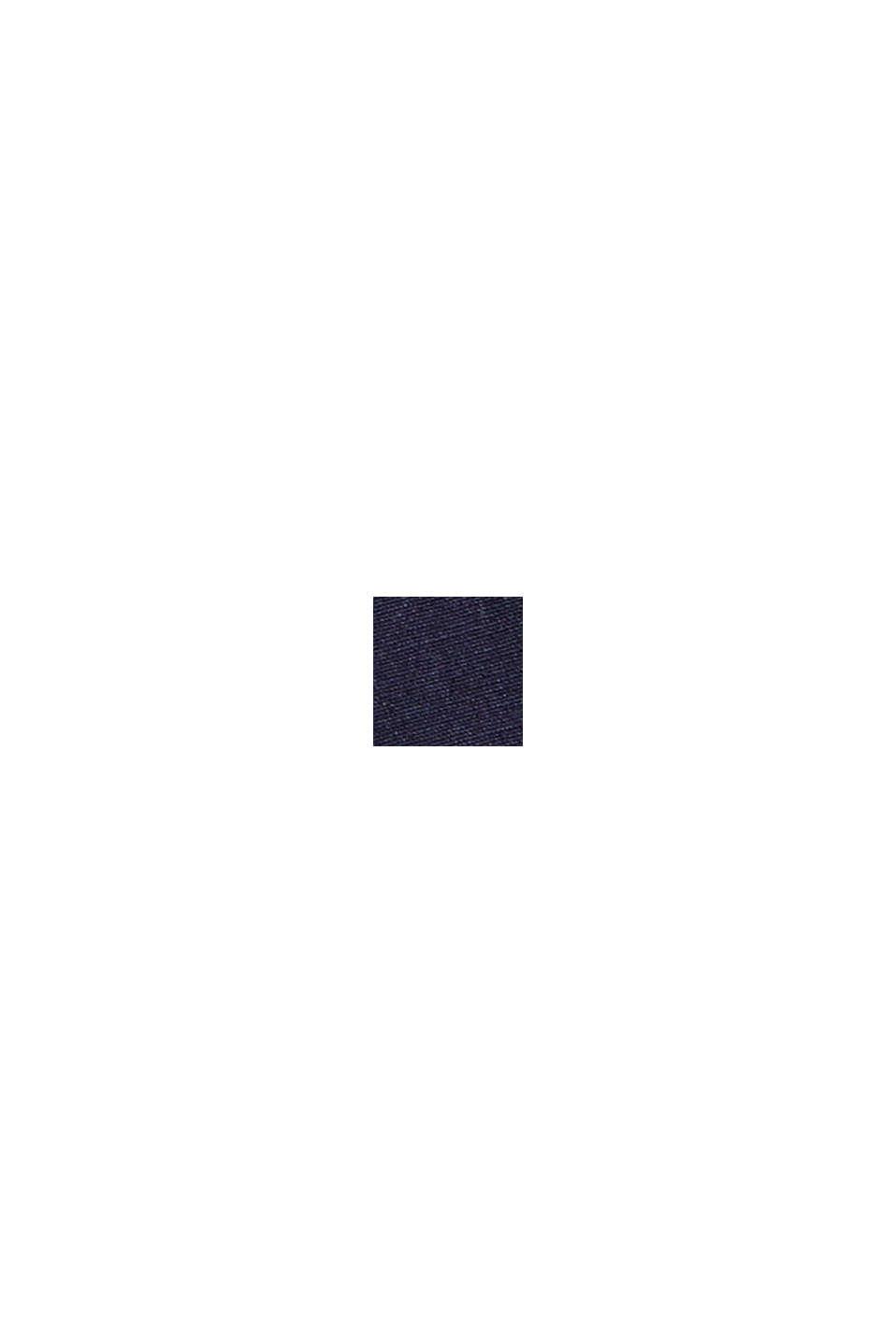 À teneur en lin, avec la technologie COOLMAX®: la chemise à col ajustable, NAVY, swatch