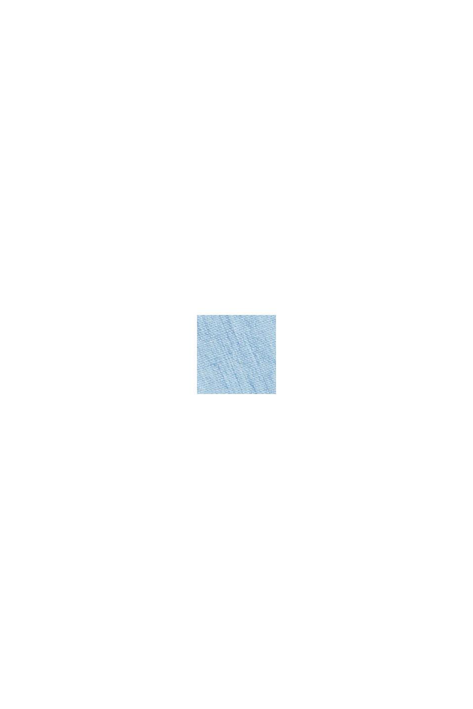 À teneur en lin, avec la technologie COOLMAX®: la chemise à col ajustable, LIGHT BLUE, swatch