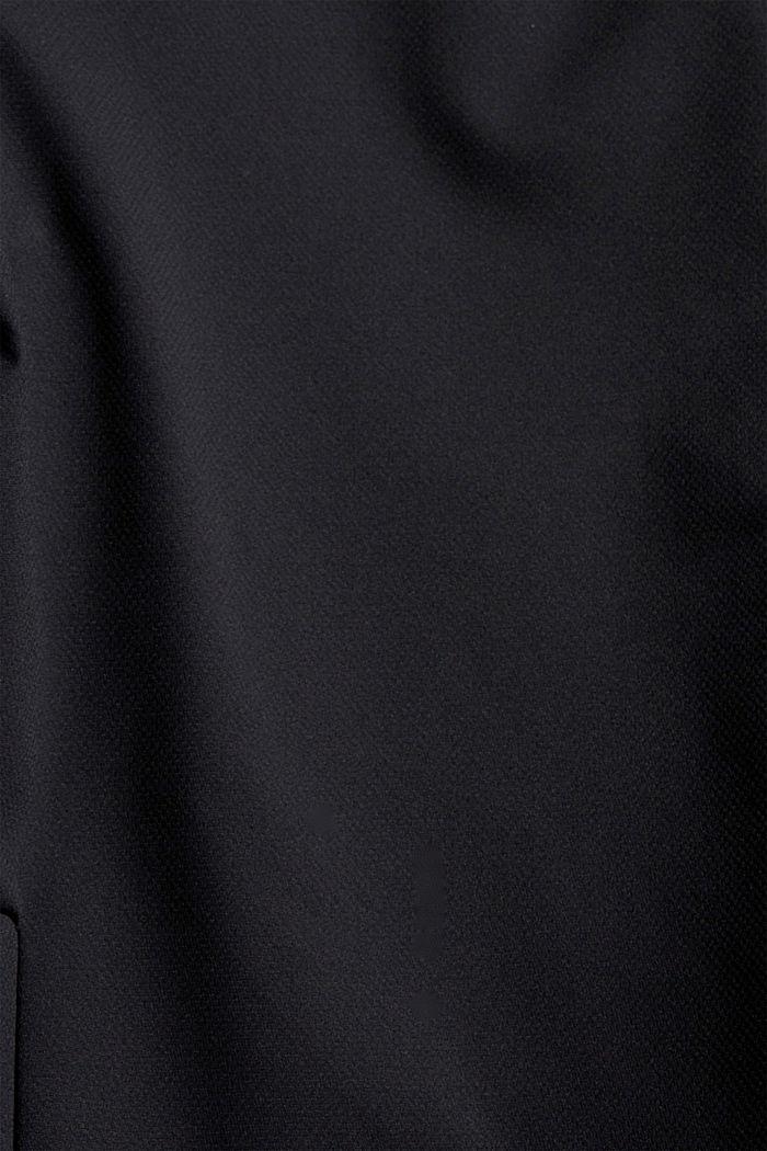 Recycelt: funktionales Overshirt, BLACK, detail image number 4