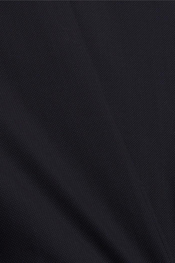JOGG SUIT colbert van een wolmix, DARK BLUE, detail image number 4