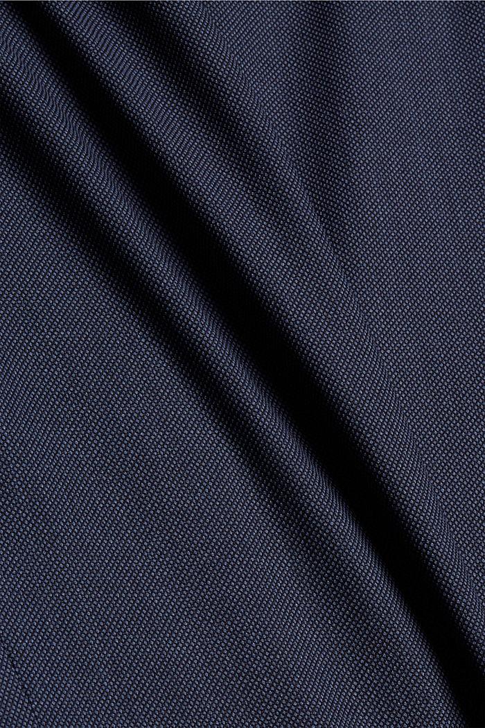 JOGG SUIT Sakko aus Woll-Mix, BLUE, detail image number 4
