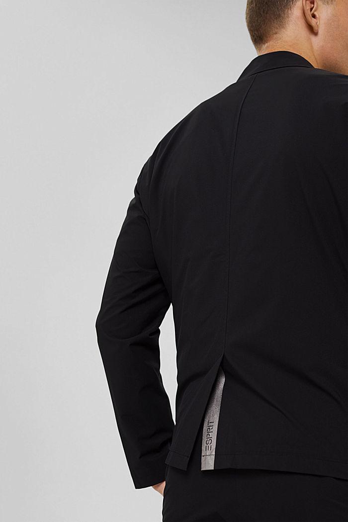 #ReimagineFlexibility: Jacke mit Bi-Stretch, BLACK, detail image number 7