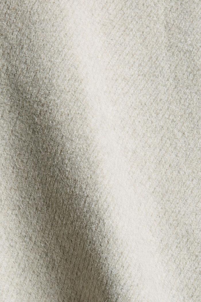 Responsible Wool: Jacke mit RWS Wolle, LIGHT BEIGE, detail image number 5