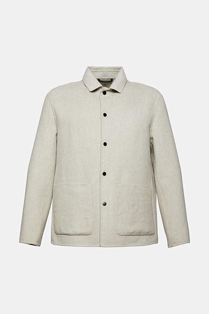 Wełna ze zrównoważonych źródeł: kurtka z wełną RWS