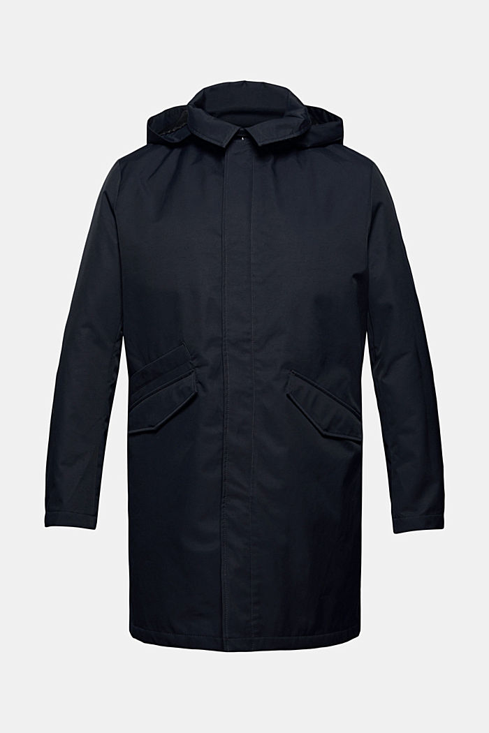 Manteau rembourré en coton mélangé