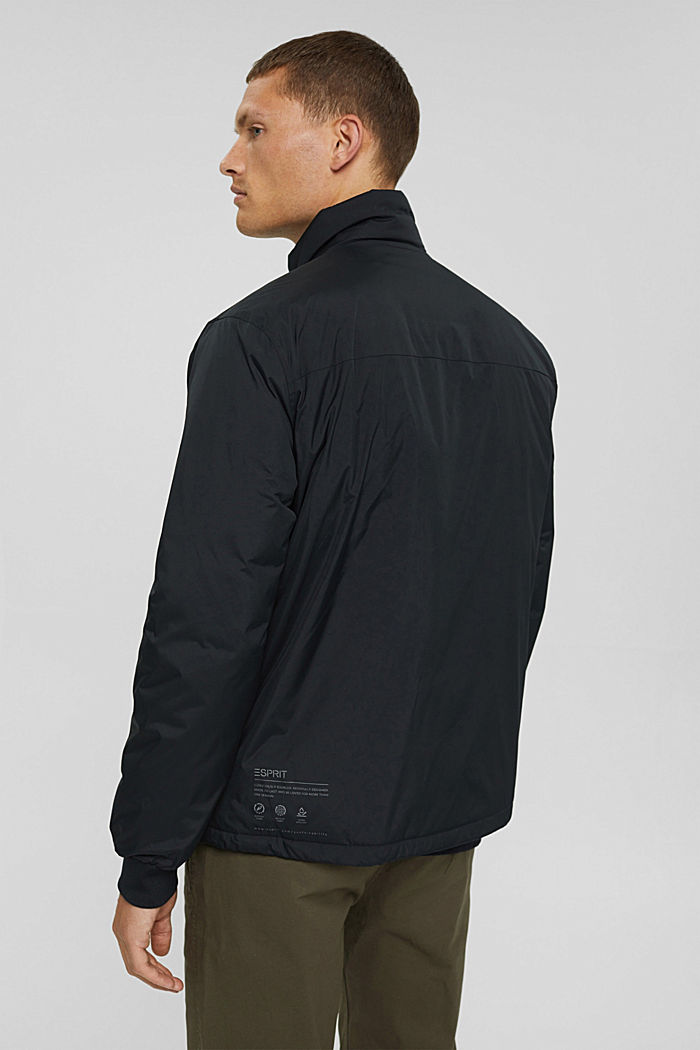Recycelt: Jacke mit Daunenfüllung, BLACK, detail image number 3