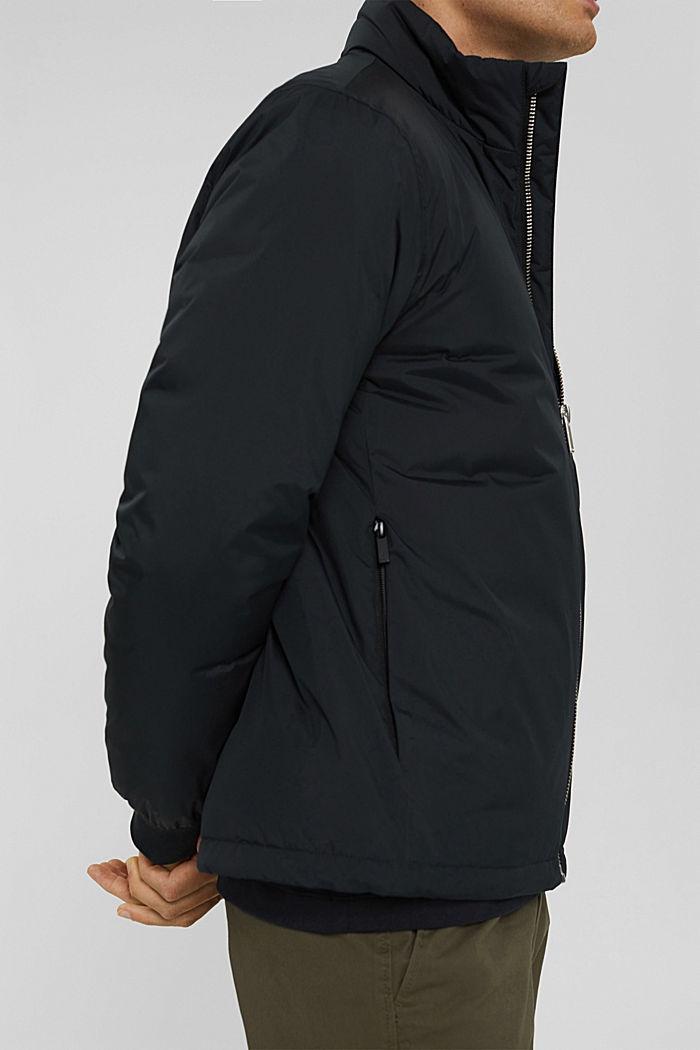 Recycelt: Jacke mit Daunenfüllung, BLACK, detail image number 4